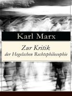 Zur Kritik der Hegelschen Rechtsphilosophie
