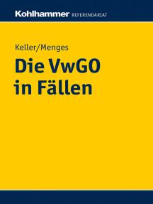 Die VwGO in Fällen