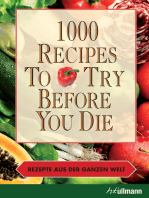 1000 Recipes To Try Before You Die