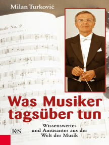 Was Musiker tagsüber tun: Wissenswertes und Amüsantes aus der Welt der Musik