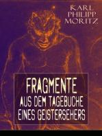 Fragmente aus dem Tagebuche eines Geistersehers