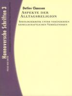 Aspekte der Alltagsreligion