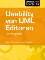 Usability von UML Editoren