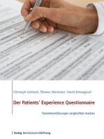 Der Patients' Experience Questionnaire: Patientenerfahrungen vergleichbar machen