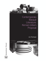 Contemporary Basque Literature: Kirmen Uribe's Proposal