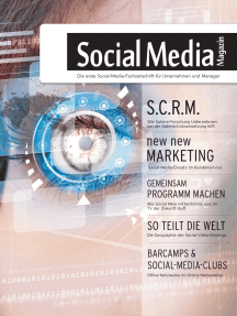 Social Media Magazin #21: Das erste deutsche Social-Media-Magazin für Manager und Entscheider in den Bereichen Online-Marketing, Marktforschung sowie PR.