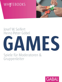 Games: Spiele für Moderatoren & Gruppenleiter