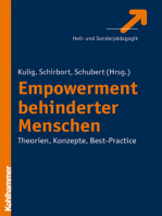 Empowerment behinderter Menschen