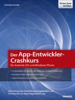 Der App-Entwickler-Crashkurs für Android, iOS und Windows Phone