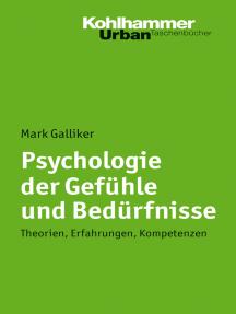 Psychologie der Gefühle und Bedürfnisse: Theorien, Erfahrungen, Kompetenzen