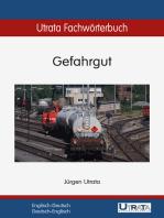 Utrata Fachwörterbuch: Gefahrgut Englisch-Deutsch: Englisch-Deutsch / Deutsch-Englisch