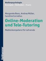 Online-Moderation und Tele-Tutoring