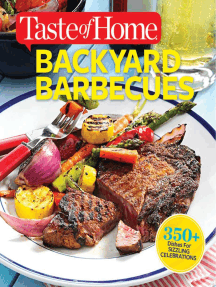Taste of Home Backyard Barbecues: Fire Up Great Get-togethers