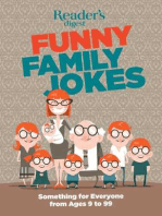 Readers Digest Funny Family Jokes: Something for Everyone from Age 9 to 99