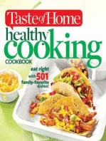 Taste of Home Healthy Cooking Cookbook