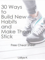 30 Ways to Build New Habits and Make Them Stick