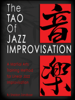 The Tao of Jazz Improvisation