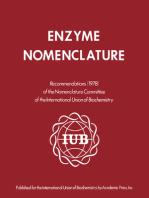 Enzyme Nomenclature 1978