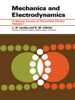 Mechanics and Electrodynamics
