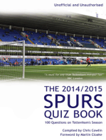 The 2014/2015 Spurs Quiz Book