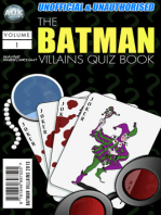 The Batman Villains Quiz Book