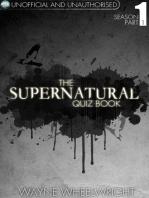 The Supernatural Quiz Book - Season 1 Part 1