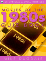 Movies of the 1980s Quiz Book
