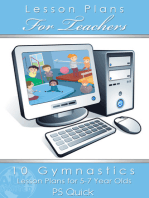 10 Gymnastics Lesson Plans for 5-7 Year Olds