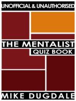 The Mentalist Quiz Book