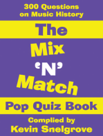 The Mix 'N' Match Pop Quiz Book