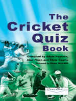 The Cricket Quiz Book