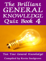 The Brilliant General Knowledge Quiz Book 4