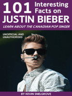 101 Interesting Facts on Justin Bieber