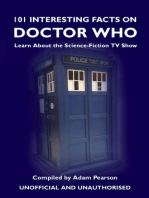 101 Interesting Facts on Doctor Who