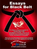 Essays for Black Belt