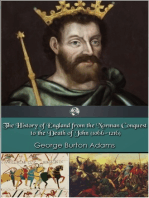 The History of England 1066-1216