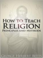 How to Teach Religion
