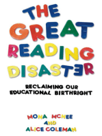 The Great Reading Disaster