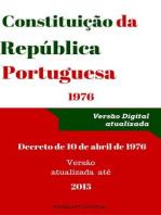 Constituição da República Portuguesa - 2015 (Direito)