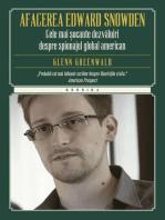 Afacerea Edward Snowden