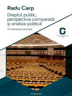 Dreptul public, perspectiva comparata si analiza politica