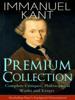 IMMANUEL KANT Premium Collection