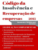 Código da Insolvência e da Recuperação de Empresas (2015)