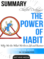 Charles Duhigg's The Power of Habit