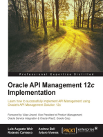 Oracle API Management 12c Implementation