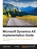 Microsoft Dynamics AX Implementation Guide