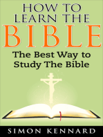 How To Learn The Bible