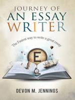 Journey of an Essay Writer