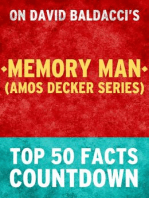 Memory Man (Amos Decker Series) - Top 50 Facts Countdown