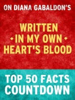 Written in My Own Heart's Blood - Top 50 Facts Countdown